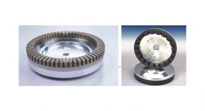 Diamond Wheels for a Glass Edging Machine